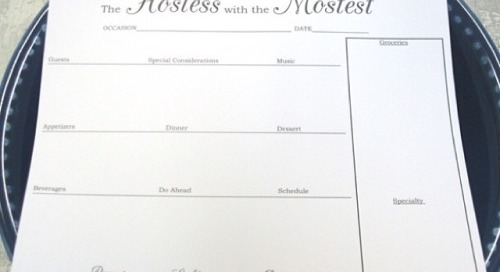 Who's the hostess with the mostest in your life?...