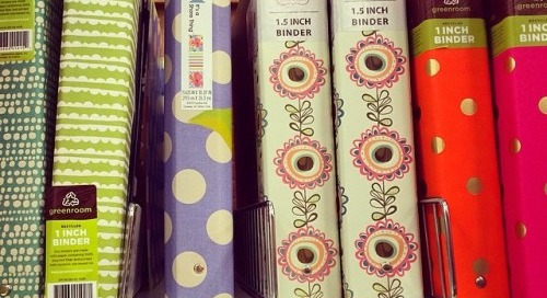 Pretty patterns spotted at target!