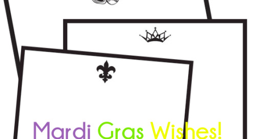 dd sends you mardi gras wishes! {& view our entire timeless...