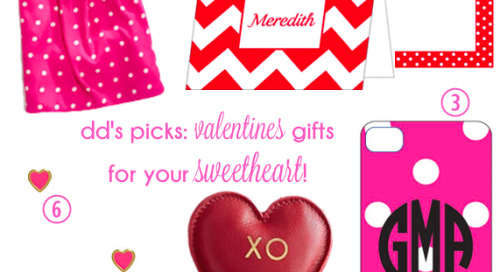 We love any opportunity to give a gift, and so Valentine's...