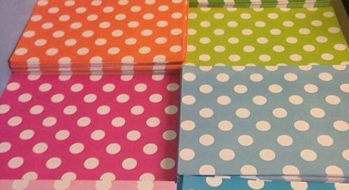 Instagramrepost from Katie {@kkb512} || Polka dots! Polka dots!...