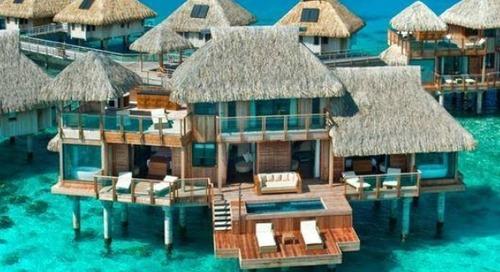 karliemontana:  welcometotayhiti:  Hilton Nui Resort in Bora...