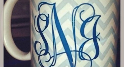 Happy monogram Monday! {image via http://bit.ly/J8L4vM} Shop...