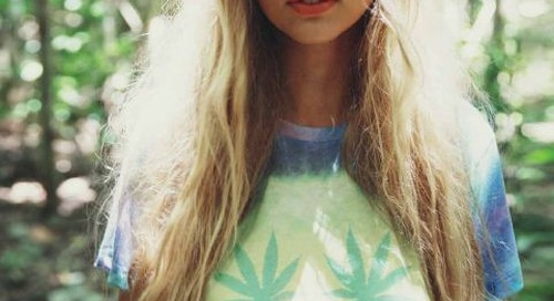 theclassyissue:  Hippy dyed vibes in the new spring 2014 look...