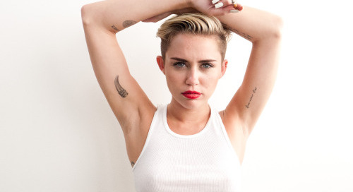 terrysdiary:  Miley Cyrus at my studio #5