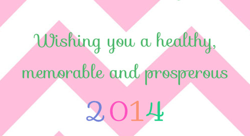 Happy New Year! Wishing you a healthy, memorable and prosperous...