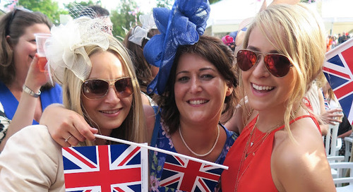 A Colourful Day Out at Ascot!