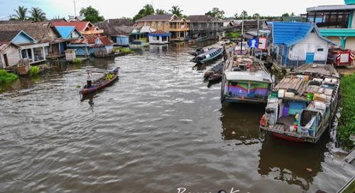 Amuntai Borneo Wisata Yang Wajib dan harus dikunjungi.