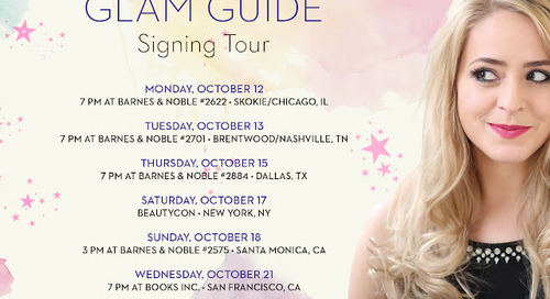 The Glam Guide - US BOOK TOUR!