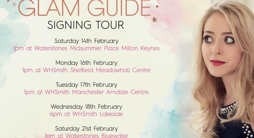 The Glam Guide BOOK TOUR!