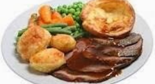 BRING BACK SUNDAY LUNCH TRADITION