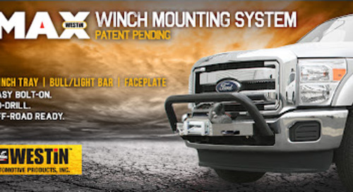 Max Winch Mounting System (Patent Pending)