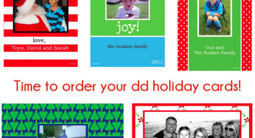 Time to order your dd holiday cards! Click here to find a...
