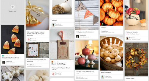 Loving the look of our autumn pins on our...