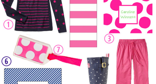 We've always had a thing for stripes and polka dots, and...