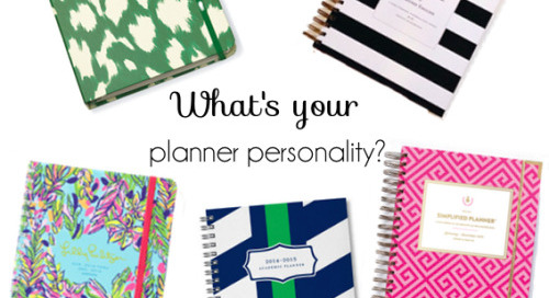 Shopping for a new planner is one of life's little...