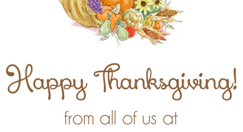 Happy Thanksgiving from all of us at donovandesigns. We are very...