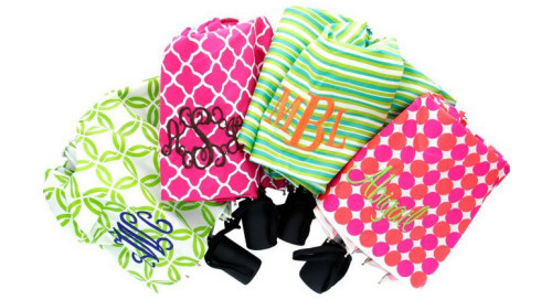Monogram Monday: Rain rain go away! But if you don't,...
