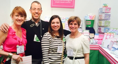 A few of our fab reps from Daniel Richards! #stationeryshow...