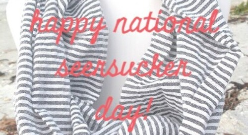 Attention prepsters: It's national seersucker day!...