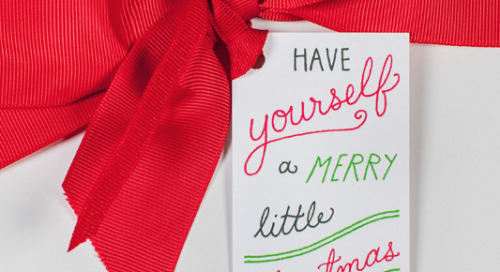 Introducing our *NEW* holiday gift tags! We love them with...
