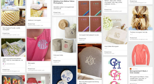 Are you following our pins? We're collecting monograms,...