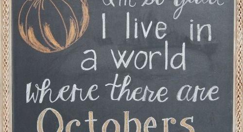 Love October!