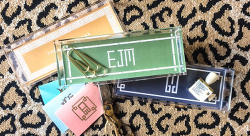It's monogram monday! We're currently coveting Emily...