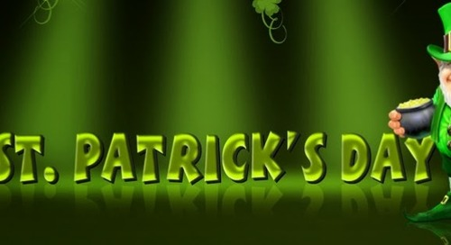 CELEBRATE ST PATRICK'S DAY WITH US!!