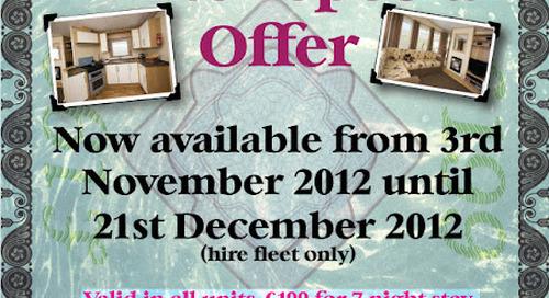 Warm Up For Winter Special Offer - Garreg Goch