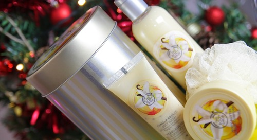 The Body Shop Vanilla Brulee - 12 Days of Gifting