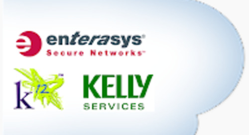 #DF12 Panel – Cloud as a Business Strategy: Lessons from Enterasys, K12 and Kelly Services