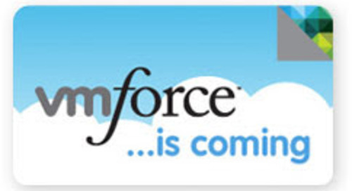 A New Force for the Cloud – VMWare and salesforce.com Bring Java to the Party
