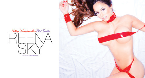 @Reenaskyvip in new @striplvmag by @santodonato06