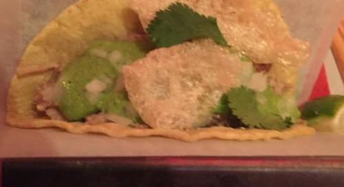 #conchitas #taco @chinapoblano #yum always spot on...