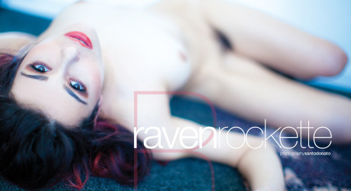 @ravenrockette wallpaper from new @striplvmag by @santodonato06