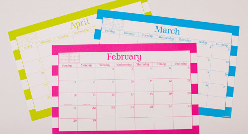 Goodbye, February. Hello, March. We're coming for you,...