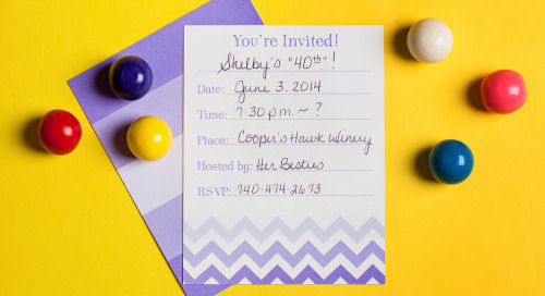 Planning a soiree for spring? Shop our fill-in invites for a...