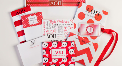 This week's GREEK GOODIE GIVEAWAY spotlight is on Alpha Omicron...