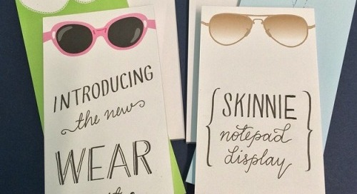 Hot off the press…wear it well notepads! #preppy #simple...