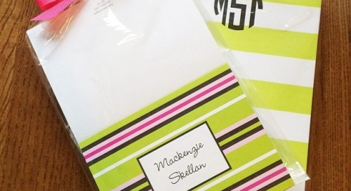 It's the last day to shop personalized stationery &...