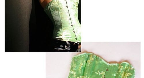 Own @MistressRoxyJ #wardrobe #corset from @STRIPLVMAG shoot....