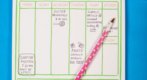 Happy Monday, sorority sisters! May we help you stay organized...