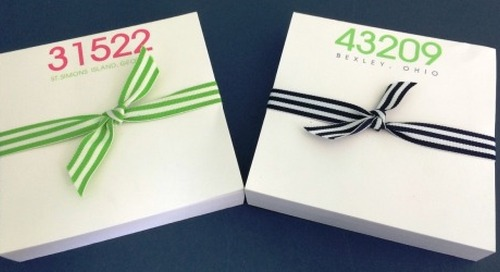What do you think of our NEW square zip code notepads? 200...