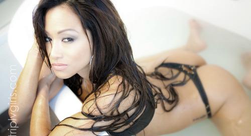 #CJMiles up now on striplvgirls.com by Santodonato