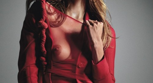 wmagazine:  Let's Twist AgainPhotography by Mario Sorrenti,...