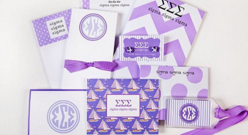 Congratulations to the winner of our tri-sigma greek goodie...
