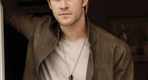Chris Hemsworth in new @striplv1 - get your copy at...