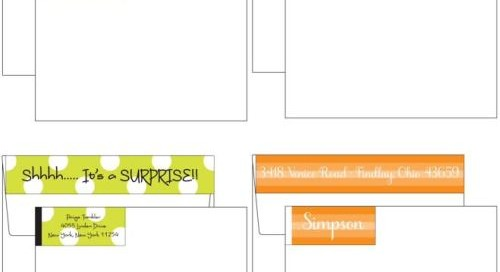Introducing NEW envelope wrappers! Measure 8 x 1. Personalize...