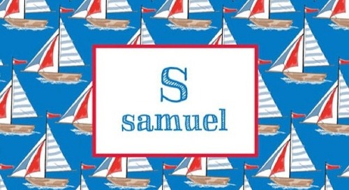S isn't only for Samuel, its for Saturday…the...